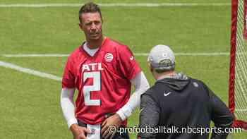 Arthur Smith: Matt Ryan wants to be coached, it's my job to push him