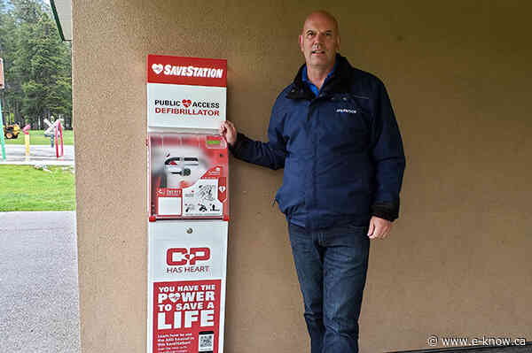 Sparwood SaveStation makes public safety a priority