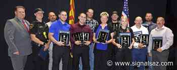 Prescott Valley Police Department Honors Outstanding Personnel in Annual Awards - Signals AZ