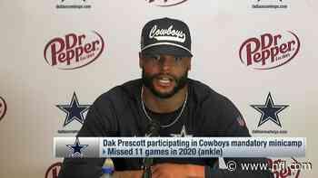 Dak Prescott: 'We'll be taking a big leap as we head into training camp' - NFL.com