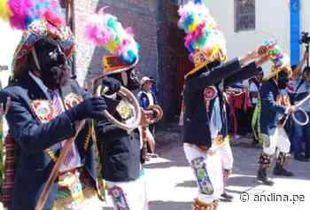 Huancavelica celebra: danza Negritos de Marcas ya es Patrimonio Cultural de la Nación - Agencia Andina