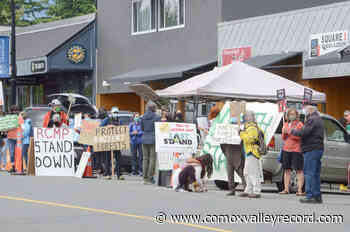 Logging protest in Courtenay part of provide-wide day – Comox Valley Record - Comox Valley Record