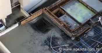 Pedreiro cai de prédio em obras na Praia de Itaparica, em Vila Velha - A Gazeta ES