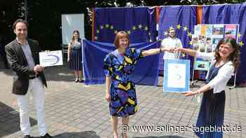 Mildred-Scheel-Kolleg ist jetzt offiziell Europaschule