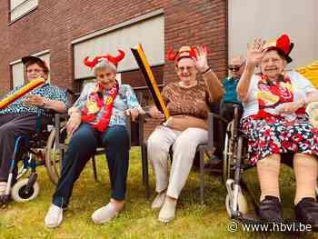 Bewoners WZC Melderthof maken EK-lied (Lummen) - Het Belang van Limburg Mobile - Het Belang van Limburg