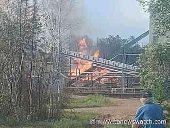 Firefighters called to BioPower mill in Atikokan - Tbnewswatch.com