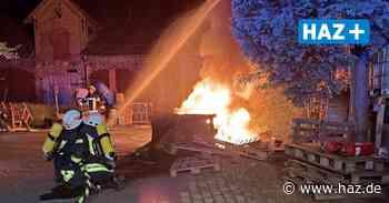 Sehnde: Drei Brände fordern fünf Ortsfeuerwehren - Hannoversche Allgemeine