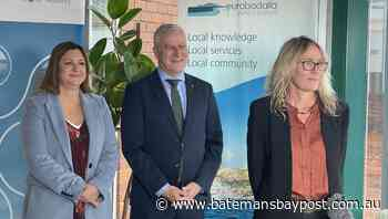 Deputy PM Michael McCormack welcomes shire's new southern water storage project - Bay Post/Moruya Examiner