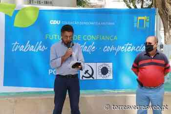 Fernando Santos é o candidato a Santa Maria, São Pedro e Matacães pela CDU - TORRES VEDRAS WEB