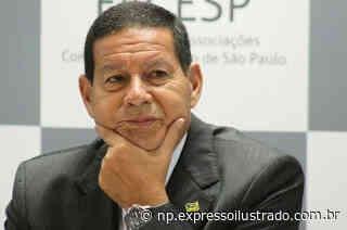 Vice-presidente Mourão em Santa Maria - Jornal Expresso Ilustrado