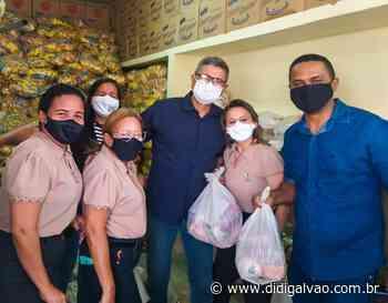 Santa Maria da Boa Vista inicia entrega de kits de merenda escolar para alunos da Rede Municipal - Blog do Didi Galvão