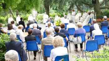 Il vescovo apre la festa del Sacro Cuore all'ospedale di Negrar - L'Arena