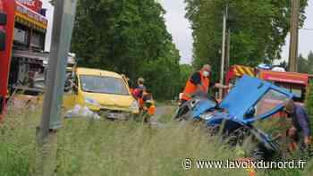 Trois blessés légers dans un accident entre Hazebrouck et La Motte-au-Bois - La Voix du Nord