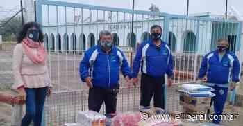 Veteranos de Guerra llegaron desde La Matanza para entregar donaciones en el interior - El Liberal Digital