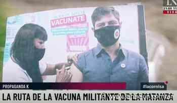Covid: denuncian uso político de la vacunación en La Matanza - LA NACION