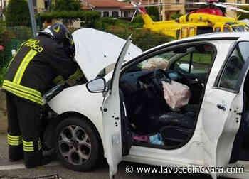 Due incidenti ad Agnellengo e Oleggio. Centauro grave in ospedale - La Voce di Novara