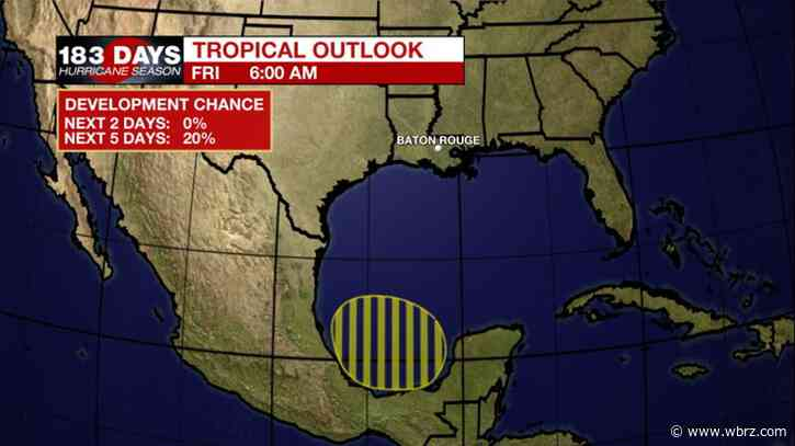 NEW: Tropical Outlook has something to keep an eye on