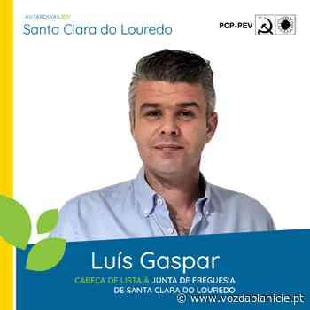 Autárquicas 2021: Luís Gaspar é o candidato da CDU à Junta de Freguesia de Santa Clara de Louredo - Voz Da Planicie