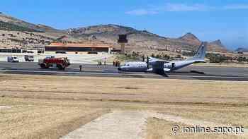 Aterragem de emergência em Porto Santo - Jornal i