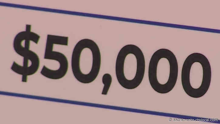 Person From Sacramento County Among 2nd Round Of $50K Winners In California's Vaccine Lottery