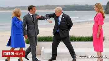 G7 leaders attend a summit in Cornwall