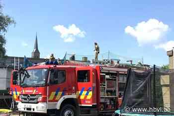 Grote schade aan slaappaviljoen internaat Caritat bij Athene... (Lanaken) - Het Belang van Limburg Mobile - Het Belang van Limburg