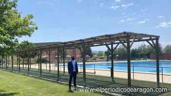 La piscina de Los Planos de Teruel abre sus puertas con una nueva pérgola - El Periódico de Aragón