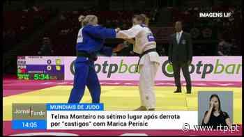 Judoca Telma Monteiro ficou em sétimo lugar nos mundiais de judo - RTP