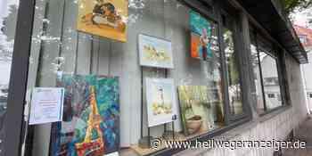 Kunst im Bürgerbüro erinnert an abgesagten Malermarkt   Holzwickede - Hellweger Anzeiger