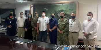 Puerto de Santa Marta recibe visita de miembro de la embajada de EEUU - Opinion Caribe