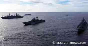 Marinha russa começa manobras navais de grande escala no Pacífico (VÍDEO) - Sputnik Brasil