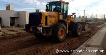 San Rafael: asfaltaron 30 cuadras en Salto de las Rosas - Sitio Andino