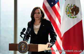 Kamala Harris has another tense clash over when she'll visit the US-Mexico border