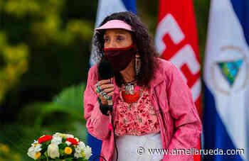 """Vicepresidenta de Nicaragua, Rosario Murillo, felicita al """"hermano"""" Castillo por """"victoria"""" en Perú - ameliarueda.com"""
