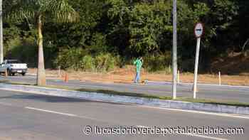 Infraestrutura! Prefeitura inicia obra de nova rotatória em Lucas do Rio Verde - ® Portal da Cidade   Lucas do Rio Verde