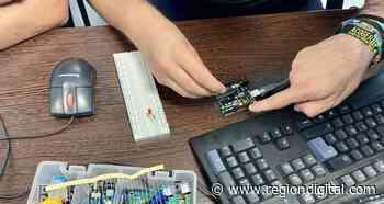 Centro Fiware Space forma en programación en Escuela Virgen de Guadalupe de Badajoz - Región Digital