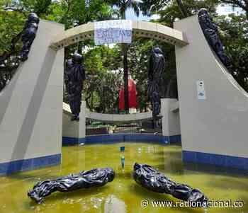 Protesta simbólica en Arauquita en conmemoración del Día del Estudiante Caído - http://www.radionacional.co/