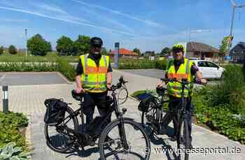 POL-WHV: Polizei Varel mit Dienstfahrrädern unterwegs - Kontrollen im Stadtgebiet durchgeführt (Bild) - Presseportal.de