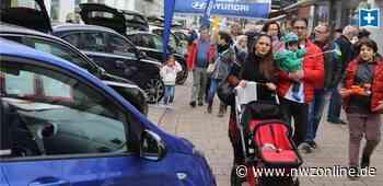 Verkaufsoffener Sonntag: Autoschau in Varels Innenstadt - Nordwest-Zeitung