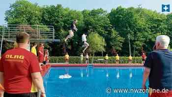 Besuch im Freibad: DLRG eröffnet die Badesaison in Varel - Nordwest-Zeitung