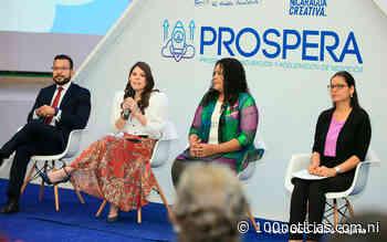 """Camila Ortega Murillo impulsa """"Prospera"""" tras sanciones, """"financiarán"""" a emprendedores - 100% Noticias • Nicaragua"""