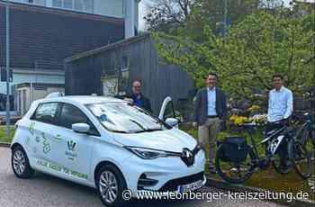 Elektromobilität in Weissach: Bauhof bekommt E-Auto - Leonberger Kreiszeitung - Leonberger Kreiszeitung