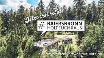 "Baiersbronn - Baiersbronn schafft ""Rauszeiten"" - Schwarzwälder Bote"