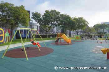 La Plaza White de Munro tiene nuevos accesos y juegos infantiles - Que Pasa Web