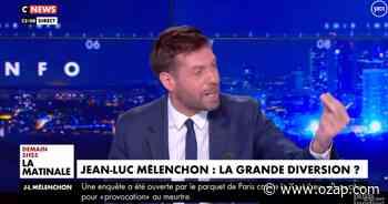 """""""Je ne suis pas là pour corriger de fausses infos"""" : Vif accrochage entre Julien Pasquet et David Guiraud sur CNews - OZAP"""