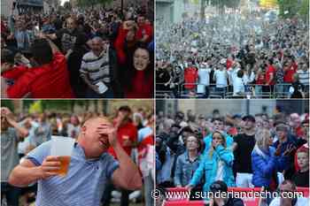 The joy and the agony - 11 drama-packed Sunderland photos of fans watching England in 2018 tournament action - Sunderland Echo