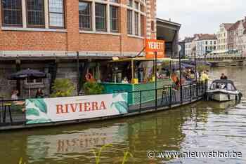 Vergeet Franse Riviera. Hier is Gentse Riviera: aanmeren met een boot en bestellen maar - Het Nieuwsblad