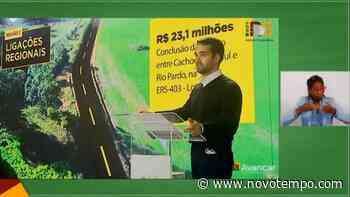 Leite anuncia investimentos em rodovias de Cachoeira do Sul - TV Cachoeira