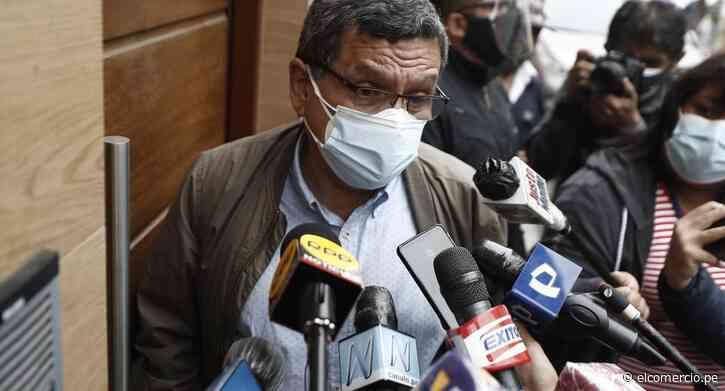 Hernando Cevallos: El profesor Pedro Castillo no ha definido que Daniel Salaverry sea vocero - El Comercio Perú