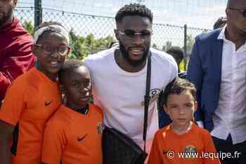 Lille - Jonathan Bamba (Lille) célébré à Alfortville - L'Équipe.fr
